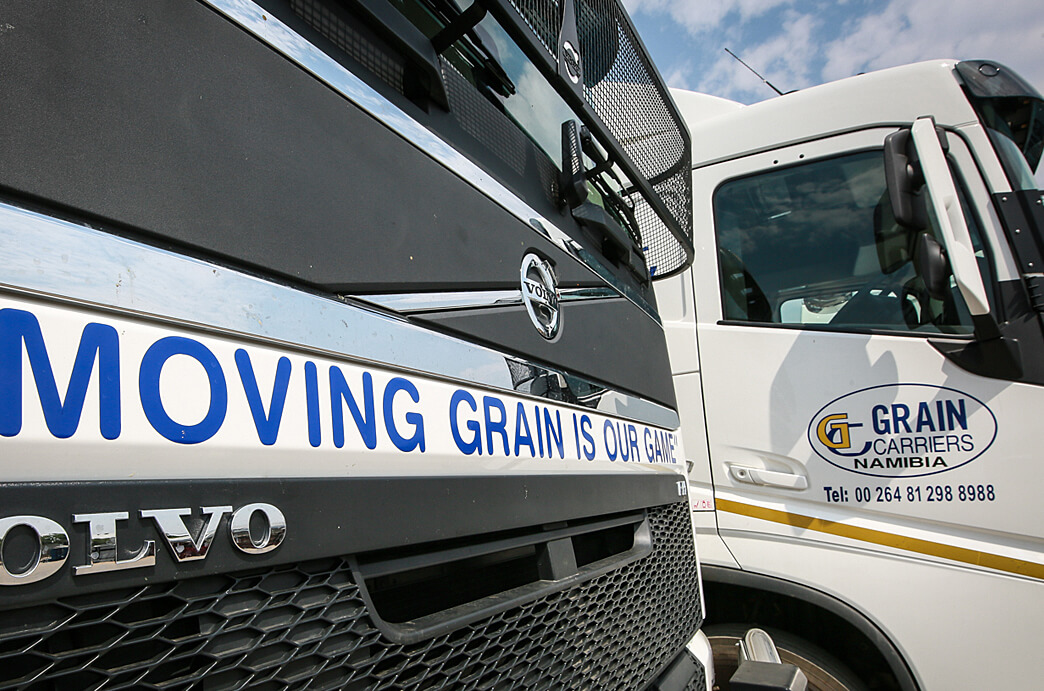 Grain Carriers Namibia Moving Grain is our Game