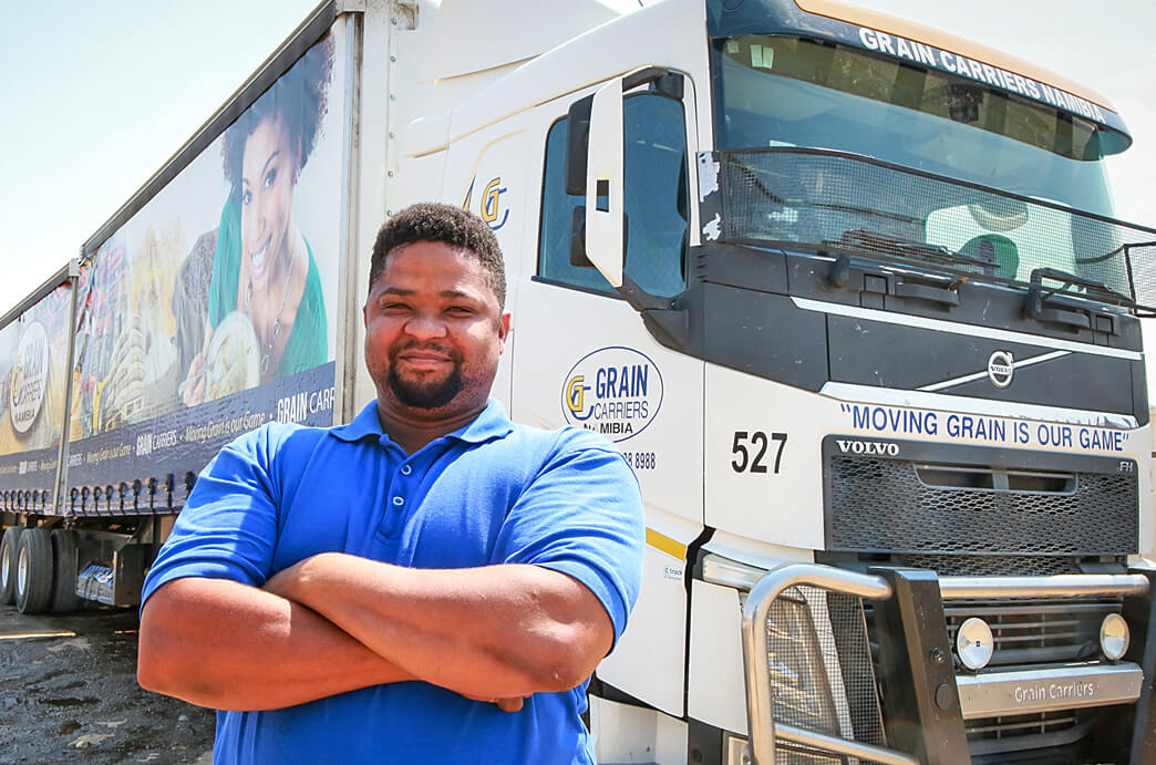 Grain Carriers Namibia Truck Driver